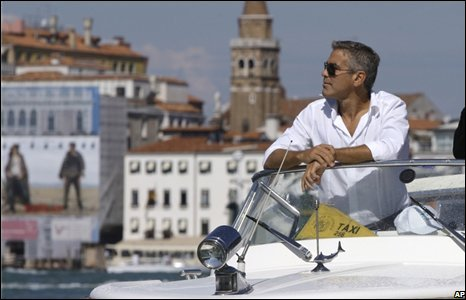 George Clooney is an Expat in Italy