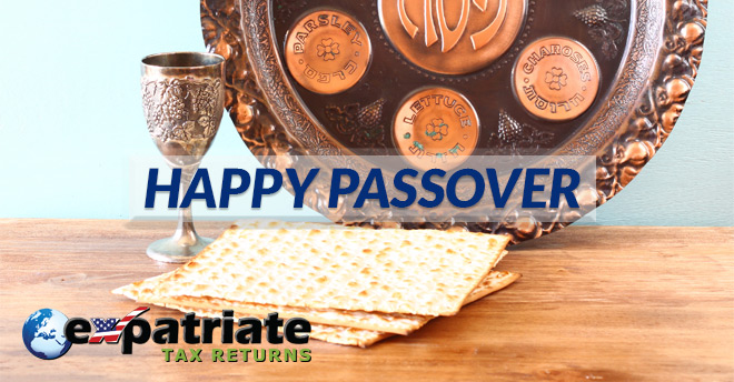 Expatriate Tax Returns Passover 2019