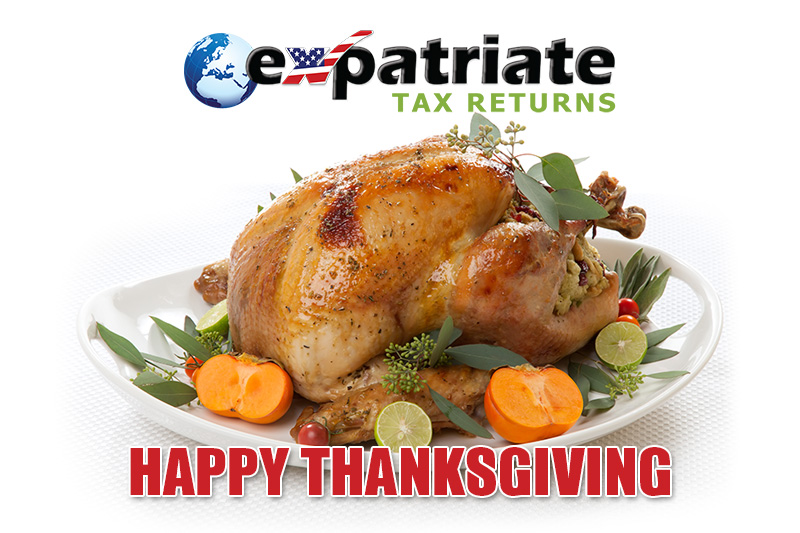 Expatriate Tax Returns Thanksgiving 2019
